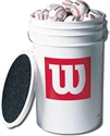 Picture of Wilson Bucket of Baseballs A1030