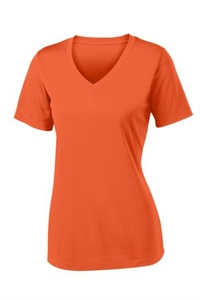 Picture of East Baseball Booster Ladies Performance V-Neck