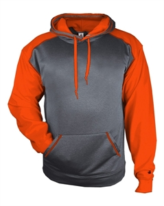 Picture of East Baseball Booster 2-Tone Performance Hooded Sweatshirt